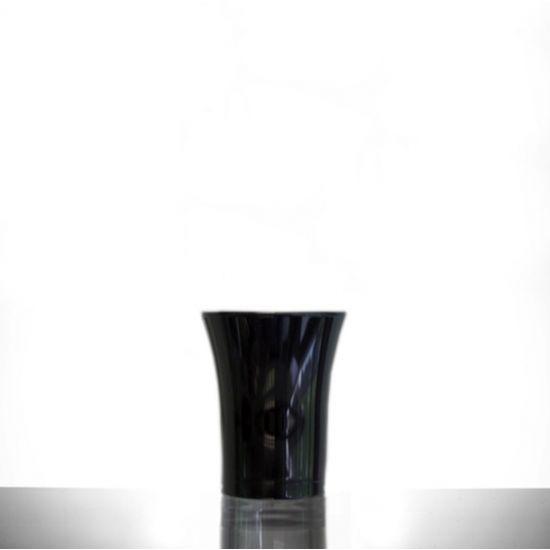 BBP Econ Polystyrene Shot Glass Neon Black CE 25ml BBP 001-2BL CE