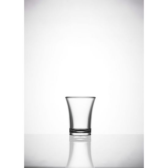BBP Econ Polystyrene Shot Glass (Box Of 100) BBP 001-2CL CE