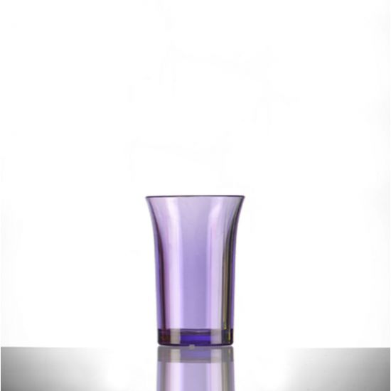 BBP Econ Polystyrene Shot Glass Neon Purple CE 35ml BBP 002-2NP CE