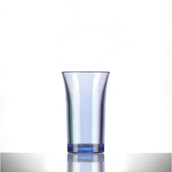 BBP Econ Polystyrene Shot Glass Neon Blue CE 50ml BBP 003-2NB CE