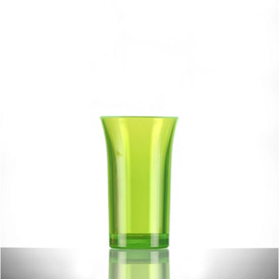 BBP Econ Polystyrene Shot Glass Neon Green CE 50ml BBP 003-2NG CE