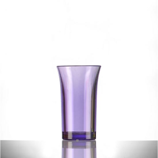 BBP Econ Polystyrene Shot Glass Neon Purple CE 50ml BBP 003-2NP CE