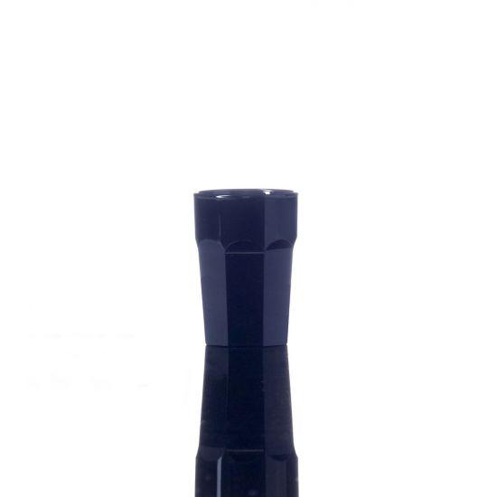BBP Elite Remedy Polycarbonate Shot Glass Black (24 Box) BBP 006-1BL CE