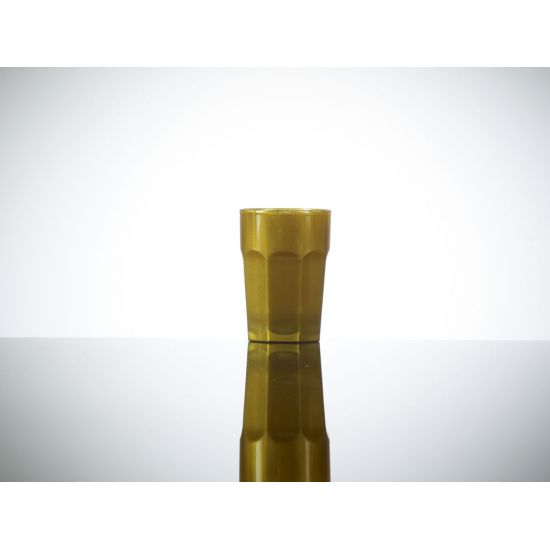 BBP Elite Remedy Polycarbonate Shot Glass Gold (24 Box) BBP 006-1GD CE