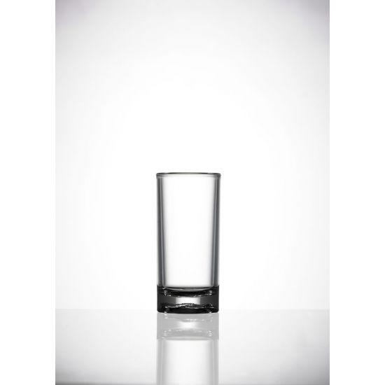 BBP Elite Premium 50ml Polycarbonate Shot Glass (24 Box) BBP 008-1CL CE