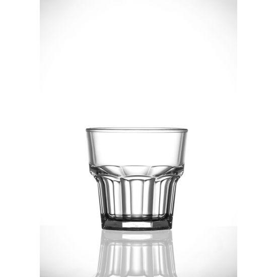 BBP Elite Remedy Polycarbonate Rocks Glass (36 Box) BBP 072-1CL NS