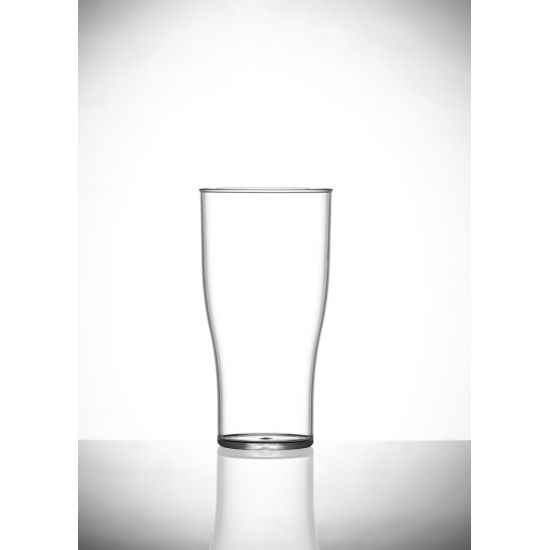 BBP Econ Polystyrene Tulip Glass (Box Of 48) BBP 101-2CL CE
