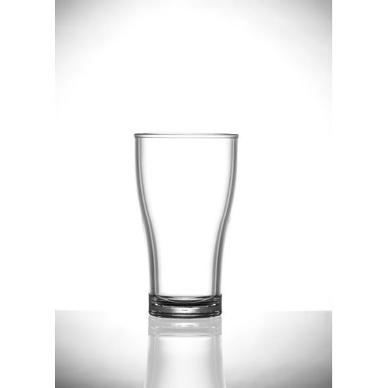 BBP Elite Half Pint Viking 10oz Polycarb Glass BBP 104-1NU CE