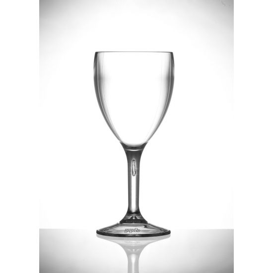 BBP ELITE PREMIUM POLYCARBONATE 9OZ WINE GLASSES - 12 PACK- CLEAR BBP 109-1CE BO