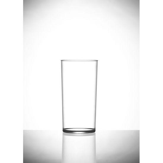 BBP Econ Polystyrene Hi-Ball Glass (Box Of 48) BBP 110-2CL CE