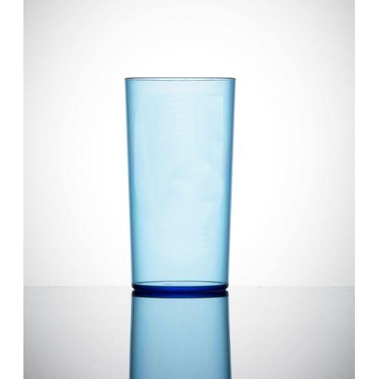 BBP Econ Polystrene HiBall Neon Blue CE BBP 110-2NB CE