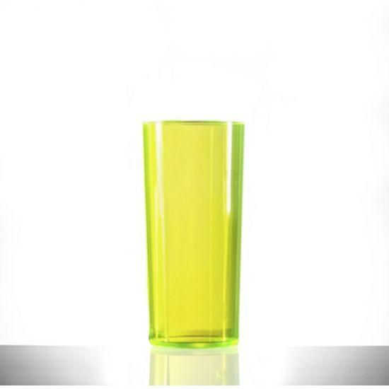 BBP Econ Polystrene HiBall Neon Yellow CE BBP 110-2NY CE