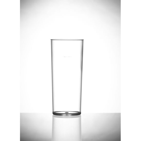 BBP Econ  Polystyrene Hi-Ball Glass (Box Of 48) BBP 121-2CL CE