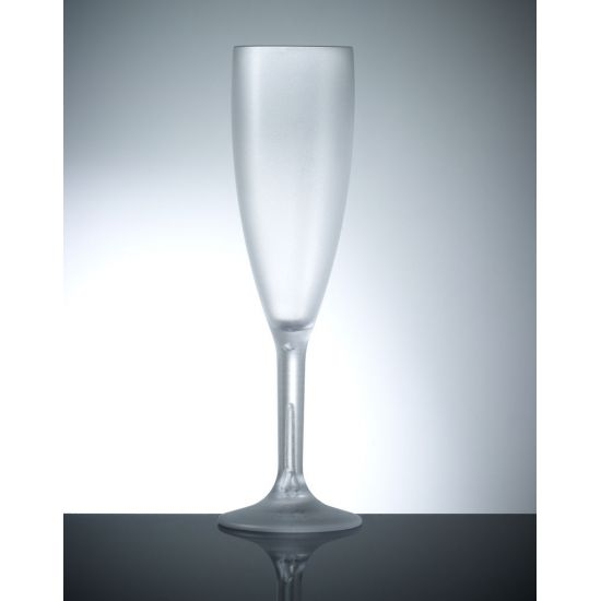 BBP Elite Premium Polycarb Champagne Flute Frosted BBP 141-1FR NS
