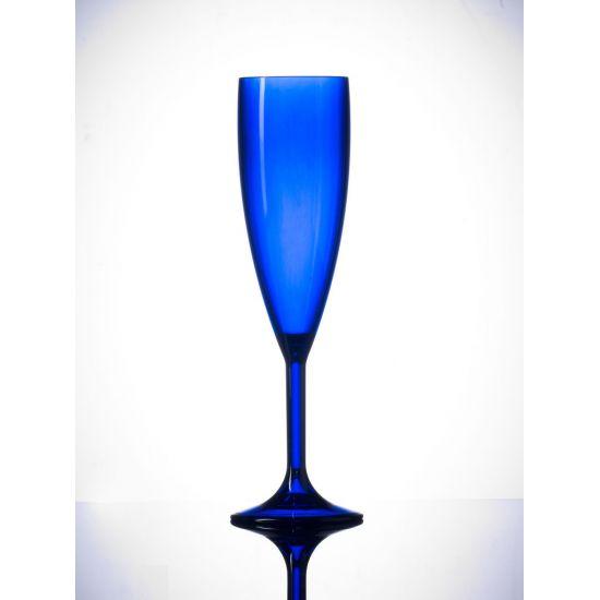 BBP Elite Premium Polycarb Champagne Flute Royal Blue BBP 141-1RB NS