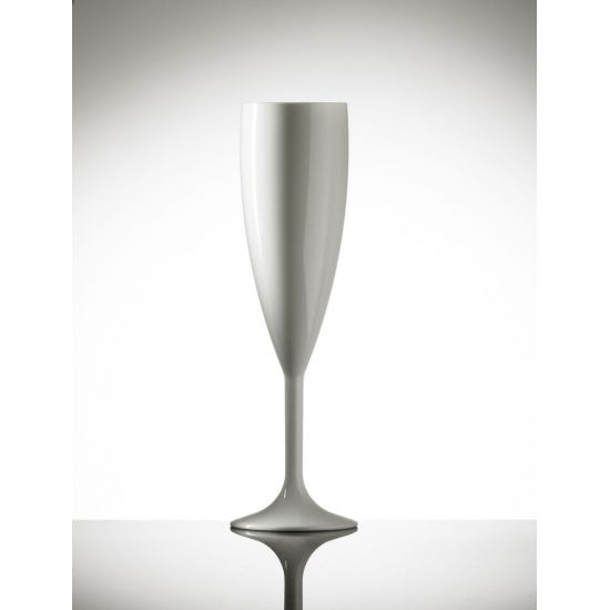 BBP Elite Premium Polycarb Champagne Flute White BBP 141-1WH NS