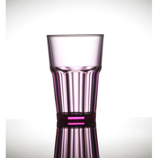 BBP Elite Remedy Polycarb Beverage Glass Red BBP 142-1NR NS