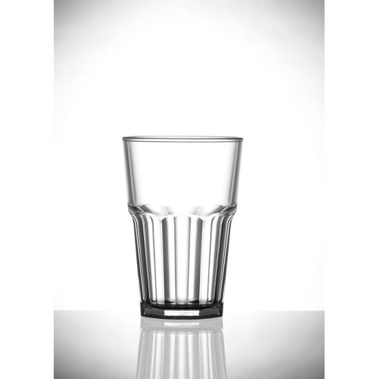 BBP Elite Remedy Polycarb Beverage Glass Clear BBP 142-1CL NS
