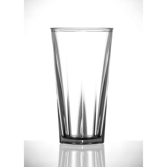 BBP Elite Penthouse Polycarb Tall Glass (24 Box) BBP 166-1CL NS