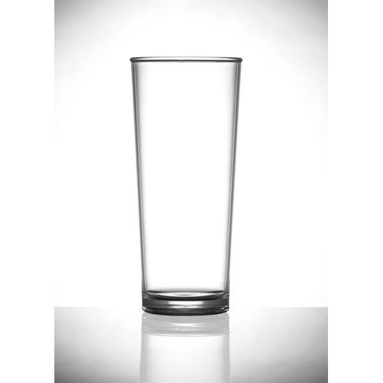 BBP Elite Premium Polycarbonate Pint Glass (24 Box) BBP 203-1NU CE