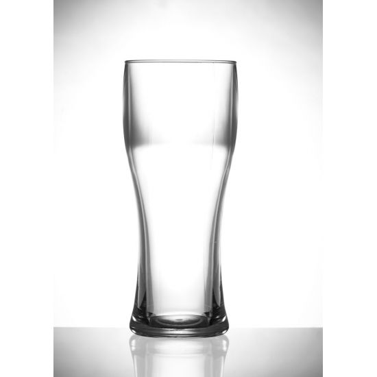 BBP Elite Polycarbonate Pilsner Pint Glass (Box Of 12) BBP 205-1CL CE