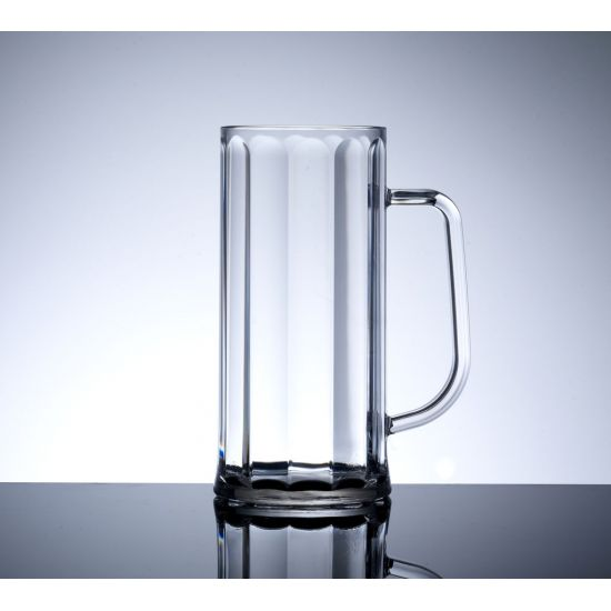 BBP Elite Polycarbonate Bavarian Tankard Glass (Box Of 12) BBP 215-1NU CE