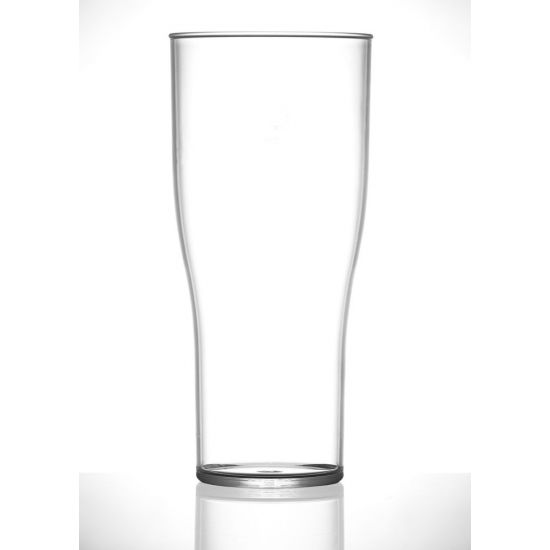 BBP Econ Polystyrene Tulip Pint Tumblers BBP 221-2CL CE