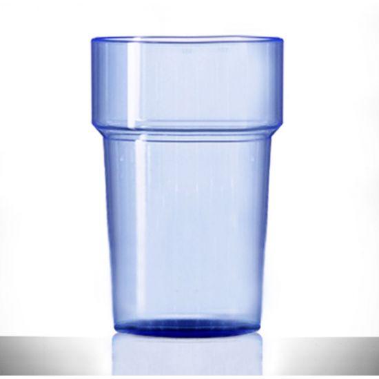 BBP Econ Polystyrene Tumbler Neon Blue CE BBP 250-2NB CE