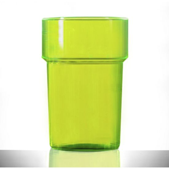 BBP Econ Polystyrene Tumbler Neon Green CE BBP 250-2NG CE