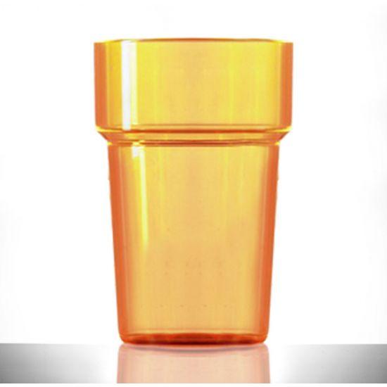 BBP Econ Polystyrene Tumbler Neon Orange CE BBP 250-2NO CE