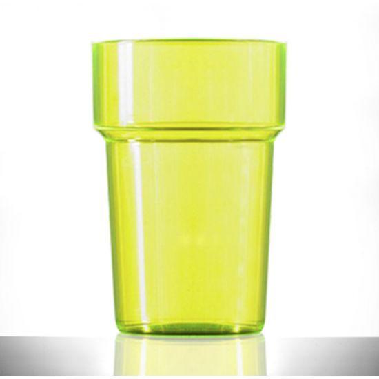 BBP Econ Polystyrene Tumbler Neon Yellow CE BBP 250-2NY CE