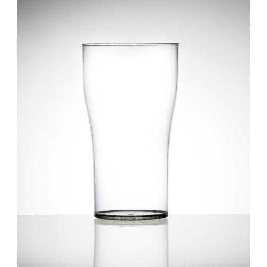 BBP Econ Polystyrene Tulip 2 Pint Glass 40oz CE BBP 450-2CL CE