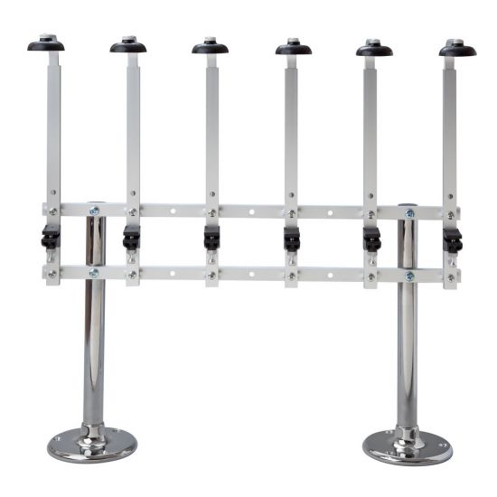 Beaumont Twin Pillar Fixed 6 Bottle Stand 70cl/1 Litre BEA 3222