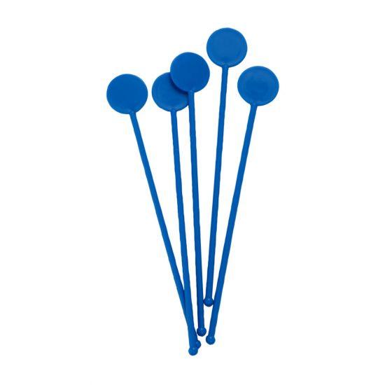 Beaumont 7 Inch Disc Stirrers – Blue – Case QTY 250 BEA 3306BLU