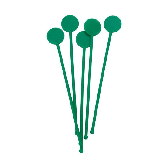 Beaumont 7 Inch Disc Stirrers – Green – Case QTY 250 BEA 3306GRE
