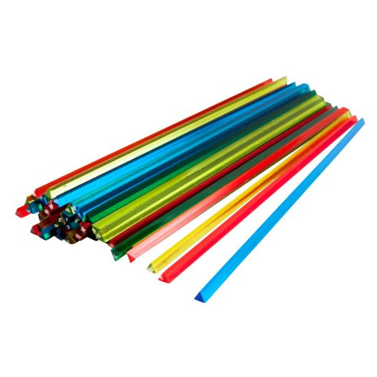 Beaumont 7 Inch Assorted Prism Stirrer – Box 1000 BEA 3309ASS