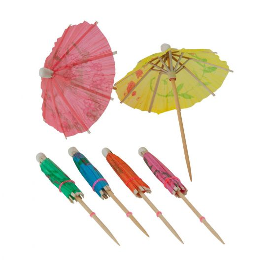 Beaumont Cocktail Parasols – Case QTY 144 BEA 3315