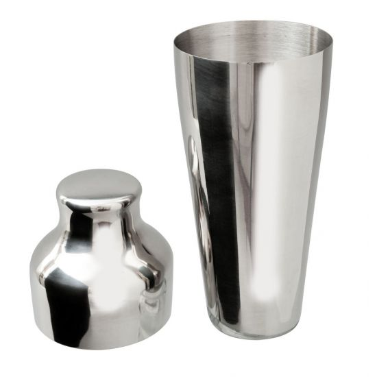 Beaumont Mezclar Art Deco Shaker Stainless Steel BEA 3337