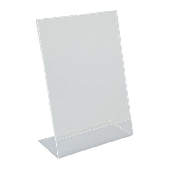 Beaumont Perspex A5 Angled Menu Holder BEA 3422