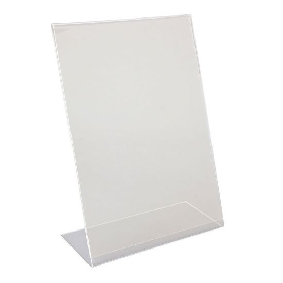 Beaumont Perspex A4 Angled Menu Holder BEA 3424