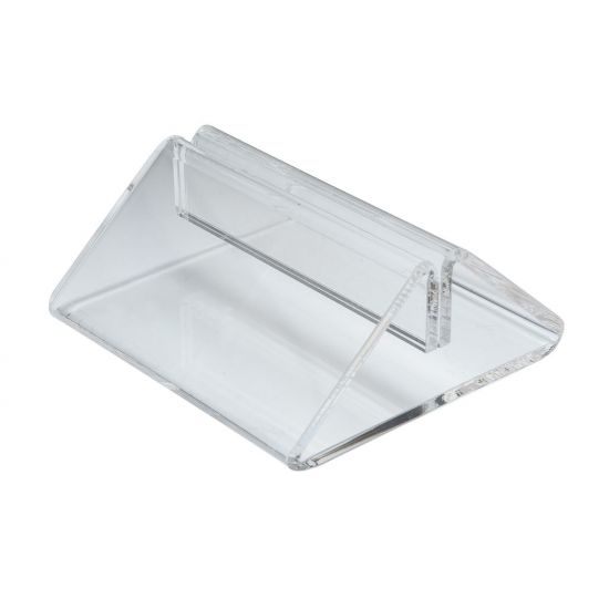 Beaumont Perspex Tent Type Menu Holder BEA 3426