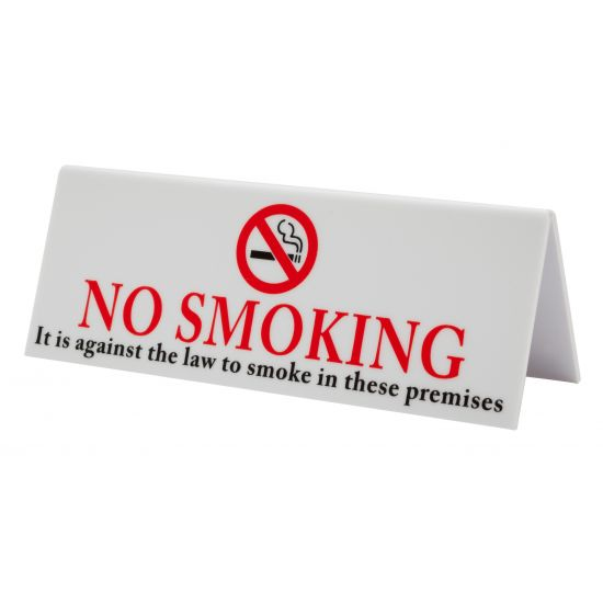Beaumont Plastic No Smoking BEA 3452