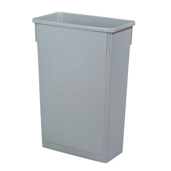 Beaumont Grey Slim Recycling Bin BEA 3487