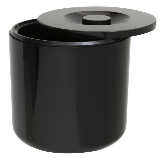 Beaumont Round Ice Bucket – Black BEA 3502