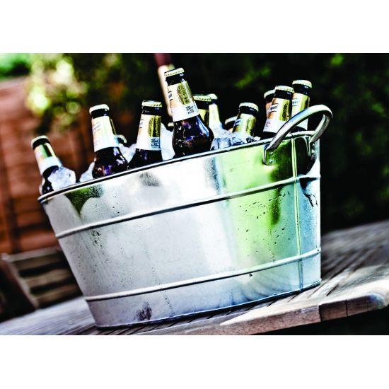 Beaumont Galvanised Steel Beverage Tub BEA 3505
