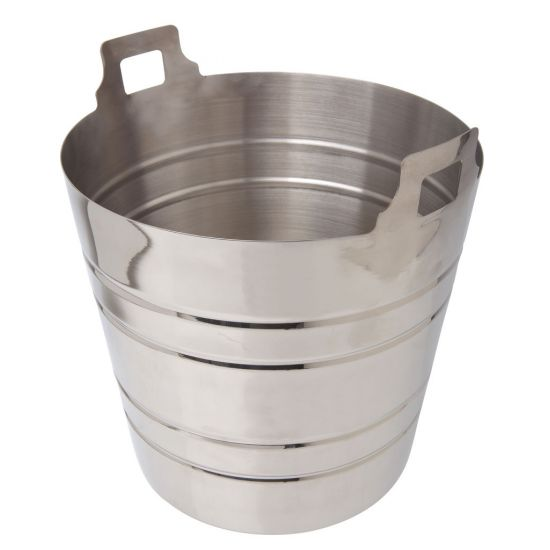 Beaumont Stainless Steel Champagne Bucket BEA 3512