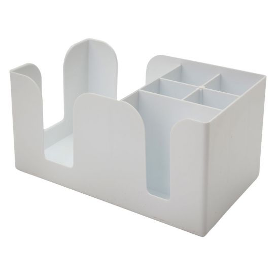 BEAUMONT Bar Caddy - White BEA 3535WHI