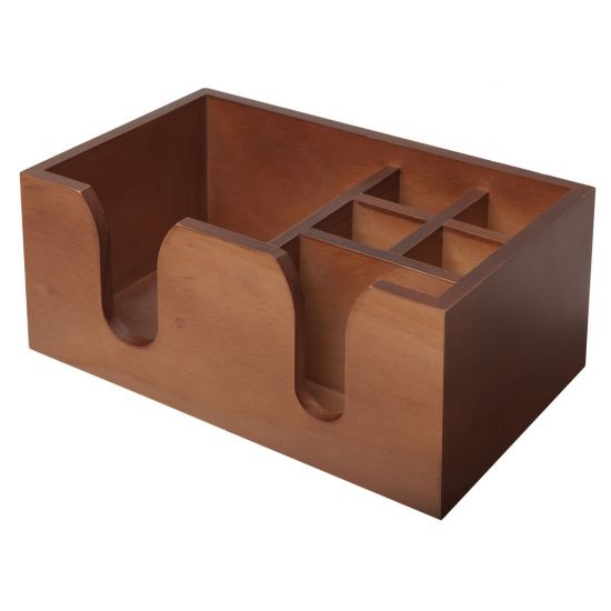 Beaumont Bar Caddy – Wooden BEA 3542