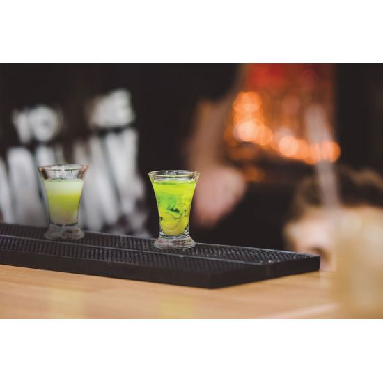 Beaumont Bar Mat – Deluxe Black Rubber BEA 3620