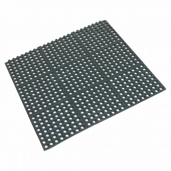 Beaumont Rubber Interlocking Floor Mat BEA 3683
